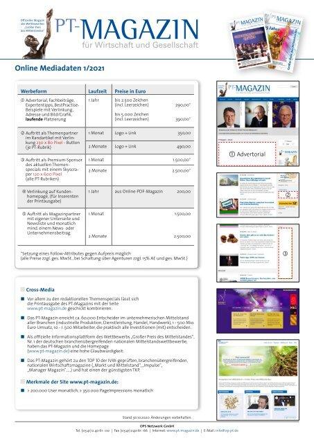 Online Mediadaten 2021