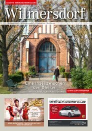 Gazette Wilmersdorf November 2019