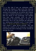 Whether Windscreen Repair Or Replacement? Know the Best Choice - Page 2