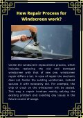 Whether Windscreen Repair Or Replacement? Know the Best Choice - Page 3