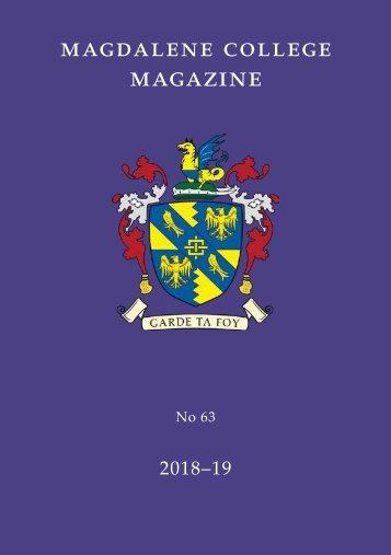 Magdalene College Magazine 2018-19