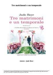 Scarica Tre matrimoni e un temporale Libri Gratis (PDF, ePub, Mobi) Di Jade Beer