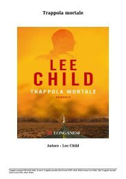 Scarica Trappola mortale Libri Gratis (PDF, ePub, Mobi) Di Lee Child