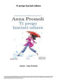 Scarica Ti prego lasciati odiare Libri Gratis (PDF, ePub, Mobi) Di Anna Premoli