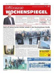 Dübener Wochenspiegel - Ausgabe 21 - Jahrgang 2019
