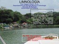PRESENTACION CLASES DE LIMNOLOGIA actualizada