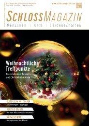 SchlossMagazin November 2019 Bayerisch-Schwaben und Fünfseenland