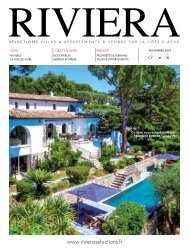 Riviera Sélections - Novembre 2019
