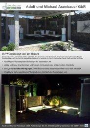 für Biergärten, Hotels