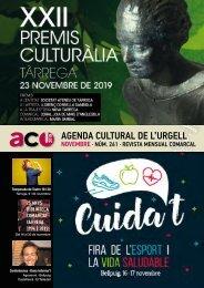 Agenda Cultural Urgell · Novembre 2019