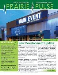 Prairie Pulse Newsletter - November 2019