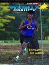 November 2017 Issue of Varsity Monthly Thumb Magazine