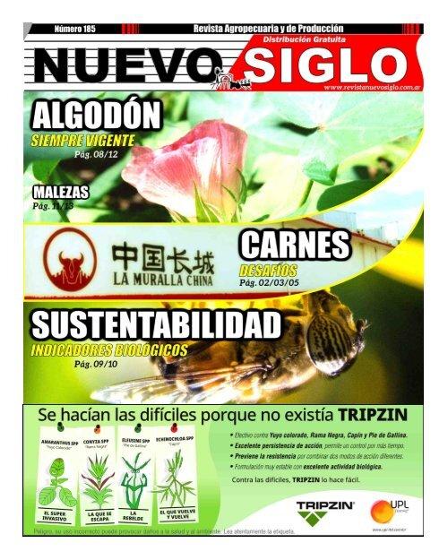 Revista Agropecuaria Nuevo Siglo 185