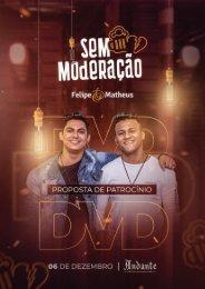 projeto patrocinio dvd Felipe e Matheus