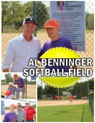 Al Benninger Field Dedication Ceremony