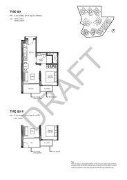 Parc Komo 1 Bedroom Floorplans
