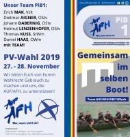 Team AUF/AFH-PiB1 Villach