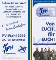 Team AUF/AFH-Lutschounigkaserne