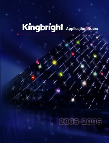 Kingbright Katalog
