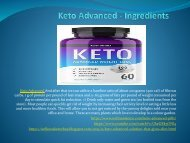 Keto Advanced - Solution That Gives A Slim Looks