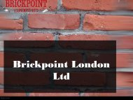 Creative Ways You Can Improve Your Brickpoint London Ltd