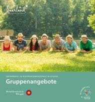 Unterwegs im Biosphärenreservat Bliesgau: Gruppenangebote