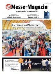 Das MesseMagazin zur 15. jobmesse bielefeld