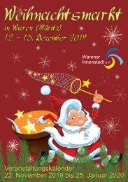 Weihnachtsmarkt Waren (Müritz) 2019 - 2019-11-05