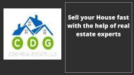 Sell your house fast with the help of real estate experts