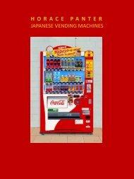 Horace Panter  Vending Machines catalogue