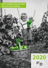 Verlagsverzeichnis des Deutschen Kulturforums östliches Europa 2020