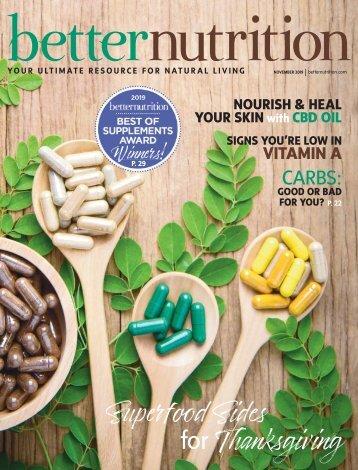 Better Nutrition November 2019