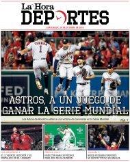La Hora Deportes 28-10-2019