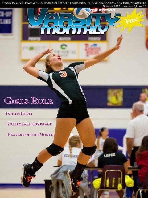 October 2017 Issue of Varsity Monthly Thumb Magazine