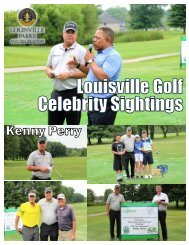 Celebrity Golfers with First Tee of Louisville