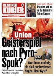 Berliner Kurier 05.11.2019