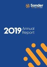 Sonder Annual Report 2018/19
