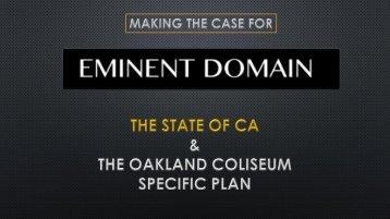 Eminent Domain Case