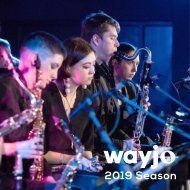 WAYJO 2019 Season Brochure