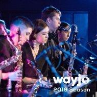 WAYJO 2019 Season Brochure