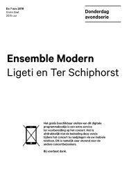 2019 11 07 Ensemble Modern