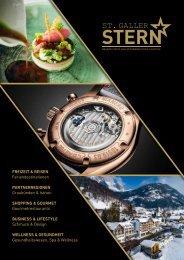 St.Galler Stern Ausgabe 3 online - Hochglanzmagazin