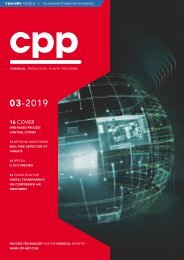 cpp – Process technology for the chemical industry 03.2019