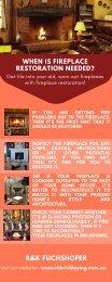 When Is Fireplace Restoration Needed? - R&K Fuchshofer
