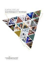 Velleman - Catalogue Electronique et Technique 2019-2021 - FR