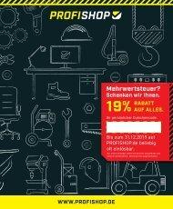 PROFISHOP - Der Katalog