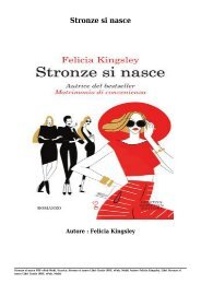 Scarica Stronze si nasce Libri Gratis (PDF, ePub, Mobi) Di Felicia Kingsley
