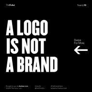 Een logo is geen merk