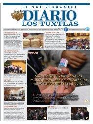 Edición de Diario los Tuxtlas del día 06 de Noviembre de 2019