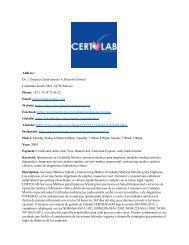 CERTOLAB Servicios Médicos para Empresas